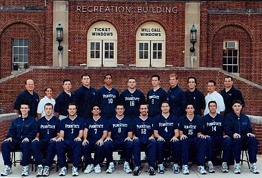 Penn State Volleybal Team 2000