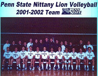 Volleyball Team 2002